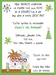 The im family mad science party invitations science party the im family mad science party invitations science party pinterest mad science party science party and mad science filmwisefo