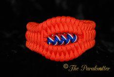 #Paraknotter #Handmade #paracord #paracord550 #turksheadknot #bracelet Trilobite with Turk's Head Knot