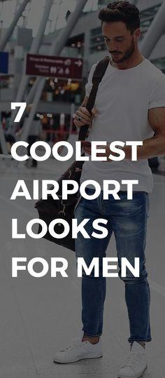 Inspiring winter men airport looks ideas. Flight Airport Looks Airport Outfit Ideas For Men Glamour Airport Looks For Guys Airport Outfit Style For Men Lifestyle By Ps Mens Fashion Blog, Best Mens Fashion, Fashion Mode, Fashion Tips, Travel Fashion, Fashion Clothes, Style Fashion, Trendy Clothing, Fasion