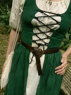 Medieval Irish Clothing Patterns | Irish Dress - Medieval Fantasy Outfit & Tutorial Link - CLOTHING
