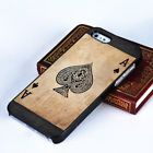 Originality Poker Spade Printing Pattern Hard Case Cover for IPhone 4/4s