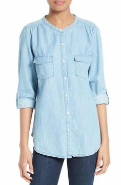 Soft Joie Amelle Chambray Shirt