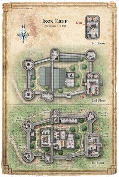 Reavers of Harkenwold; Iron Keep (Digital DM & Player Versions)