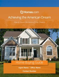 Homes.com knows all the work that goes into finding new owners for a listing or the new dream home for your newest clients. To make this process easier on you, as well as answer some questions your clients may have, we'd like to encourage you to use our free customizable Home Buying Guide.