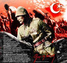 Gazi Mustafa Kemal Atatürk Çanakkale savaşı anıları resim