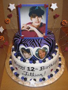 Justin Beiber Cake  on Cake Central