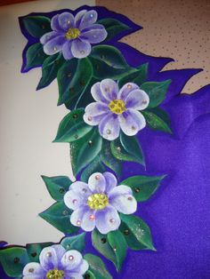 Fabric painting./great board on fabric painting called Alfi's Likes