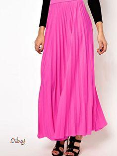 Plissé Long Skirt 12 | Modest Islamic Clothing | 2Hijab