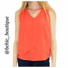 Large - Sleeveless Gigi Top Trapeze blouse that is undoubtedly a statement piece and flattering for every body shape. This top captures sophistication and a hint of cool casualness.  100% Polyester This listing is for LARGE  Bundle 2+ and save 15%! Relished Tops Tank Tops
