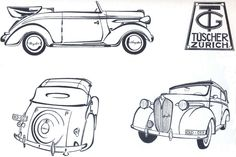 Drawing This is my 1937 Chrysler 6 DeLuxe , Coachbuild by Tüscher & Co. Zurich Chassis number 10171420 engine number P4*64337* The car was sold by dealer Epper in Luzern (Lucerne, Switzerland), Both companies, Epper and Tüscher are still in business. The engine is a 6cyl. 3299.3 cc (201,3 cid) . 82Hp (60.4 kW) @ 3600 RPM. Under the hood, on the left side you can still see the World War II confiscate number 203853.  More pictures on :  http://users.skynet.be/bruno.costers/chrysler/gespot.html