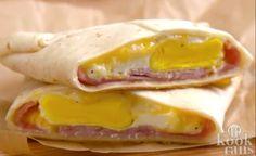 Deze envelopjes van ham en kaas zijn zó simpel om te maken! Heerlijk!