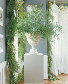 Holiday decor by Mary McDonald.