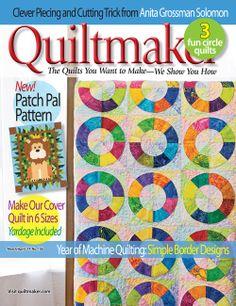 Quiltmaker Giveaway! http://www.quiltmaker.com/blogs/quiltypleasures/?p=21882
