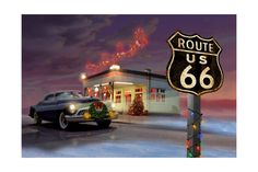 Route 66 Poster su AllPosters.it