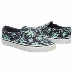 6a4aa2c8be Vans Asher Slip On Sneaker Navy Mint My Wish List