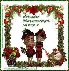 Guten Morgen (von) Christmas Ornaments, Holiday Decor, Design, Home Decor, Good Morning, Heart Pictures, Animales, Decoration Home, Room Decor