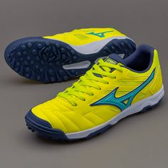 Mizuno Sala Classic II AS - Safety Yellow Turquoise ea264d480ad