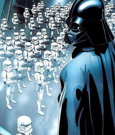 Star Wars: Darth Vader and Stormtroopers