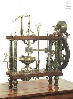 Lens-grinding lathe (Inv. 3194) from the Museo Galileo