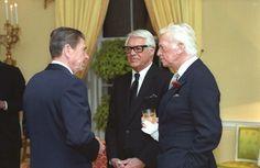 President Ronald Reagan, Cary Grant and Douglas Fairbanks, Jr.