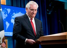 """Rex Tillerson's Time as Secretary of State Ends in Appropriately Pathetic Fashion - this is typical Trump. no style, no class, no decency, no moral compass !  Tillerson was reported as saying Trump was a """"moron"""" and wow did he get that right ! Now Trump has surrounded himself with compliant idiots at a sensitive time for the World ! That's TROUBLE !"""