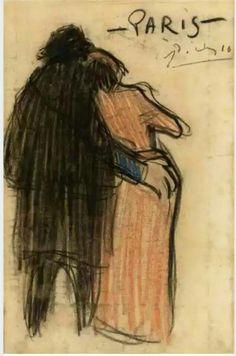 Pablo Picasso, 1916
