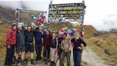Group at Annapurna Base Camp