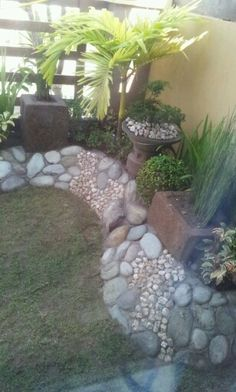 a rocky garden now