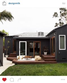 Maybe exactly how I would like my house to look. Paint it black like my soul