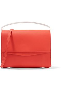 Red leather (Calf) Magnetic-fastening front flap Designer color: Dakota Comes with dust bag Made in Italy