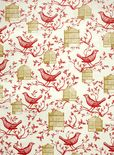 cavallini & co. bird cage designer decorative gift wrap paper    $3.50