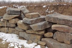 Natural Stone Retaining Block From Wicki Stone, New Jersey's Source For Wallstone