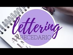 Abecedario #2 - Tutorial lettering - Rotulador tombow dual brush - UGDT - YouTube Lettering, Flask, Youtube Youtube, Scrapbook, Drawings, Videos, Sketching, Bullet, Relax