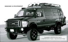 Sportsmobile Custom Camper Vans - 4WD (4 Wheel Drive, 4x4)