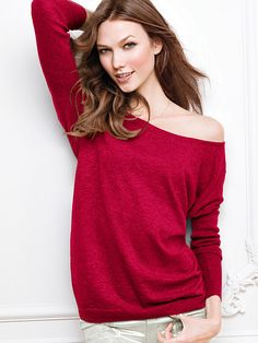 Off-the-shoulder Sweater $29.50
