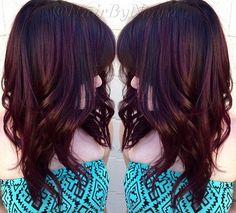 cerise couleur de cheveux de coke