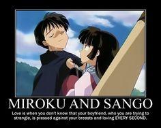 Miroku and Sango by Firetomboy.deviantart.com on @deviantART