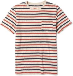 J.Crew Porter Striped Cotton-Jersey T-Shirt | MR PORTER ($50-100) - Svpply