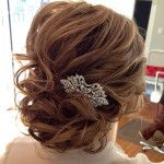 updos for medium length hair for weddings