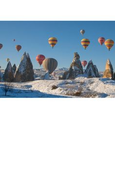 Cappadocia, Turkey  Photo: Getty Images