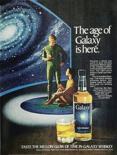 Galaxy Whiskey 1970s