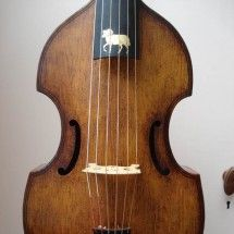 2011 Ram tenor viol birds eye maple sides and back