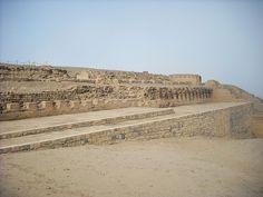 Pachacamac archeological site, Temple of the Sun,