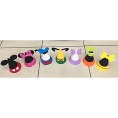 Mickey Mouse Clubhouse Party Hats 7  Mickey Mouse Party