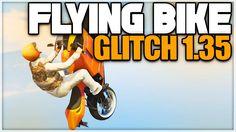 GTA 5 Online: FLYING BIKE GLITCH 1.35! (GTA 5 Glitches)