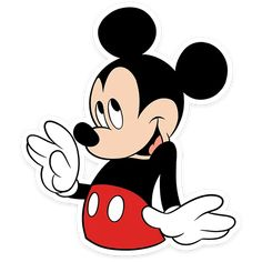 Mickey Cartoons, Mickey Mouse Cartoon, Bolo Mickey E Minnie, Mickey Mouse Images, Emo Wallpaper, Mickey Mouse Wallpaper, Quilt Labels, Golden Girls, Cute Stickers