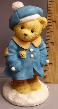 on-line store for teddy bear gifts and collectibles of all shapes, sizes and materials featuring ENESCO's Cherished Teddies by Priscilla Hillman Winter Bear Festival Set Teddy Bear Gifts, My Teddy Bear, Teddy Bear Tattoos, Clay Bear, Cow Decor, Tiny Teddies, Boyds Bears, Bear Cartoon, Love Bear