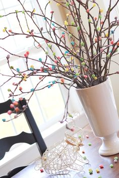 Jelly Bean Tree 25+ Easter and Spring Decorations   NoBiggie.net