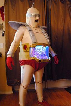 TMNT Krang cosplay by TVsRobLowe