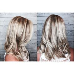 Ash Blonde Highlights and Ash Brown Lowlights